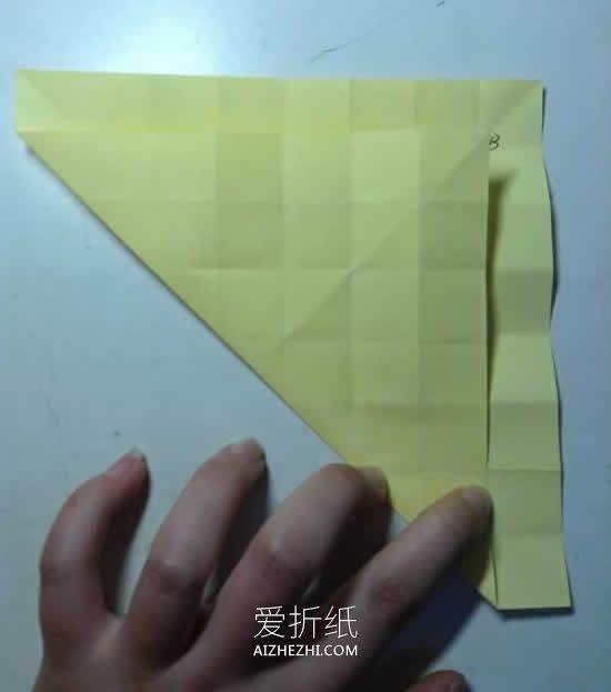 如何折纸玫瑰花的折法详细过程图- www.aizhezhi.com