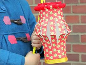 简单纸灯笼怎么做的方法图解