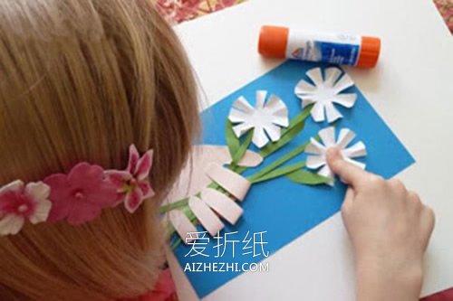 怎么做手握花教师节贺卡的方法图解- www.aizhezhi.com