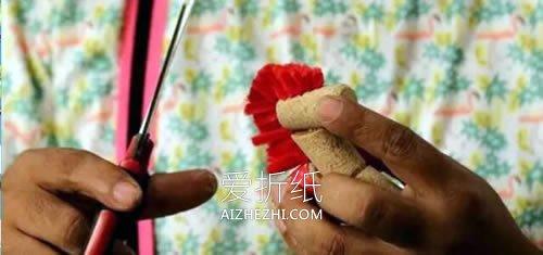 软木塞做工艺品木马怎么做- www.aizhezhi.com
