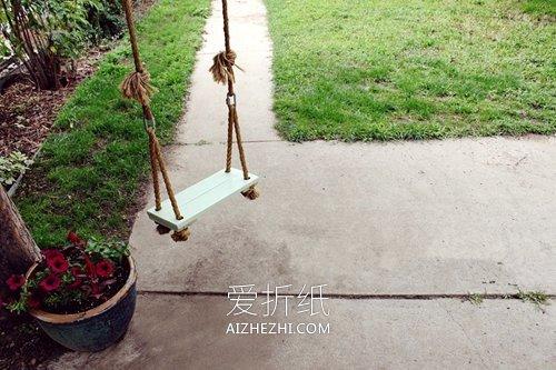 怎么用木板做秋千- www.aizhezhi.com