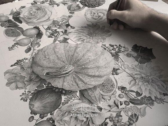 怎么用点画画的精美作品欣赏- www.aizhezhi.com