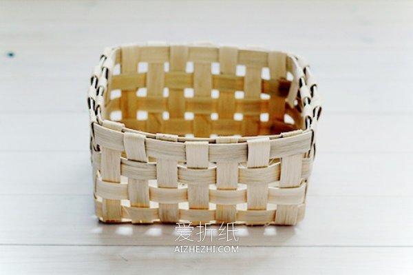 怎么编收纳篮筐的方法- www.aizhezhi.com