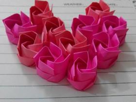 简易玫瑰花怎么叠