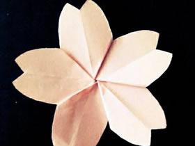 简单樱花怎么折