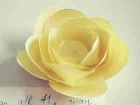 怎么手工做纸花朵简单方法