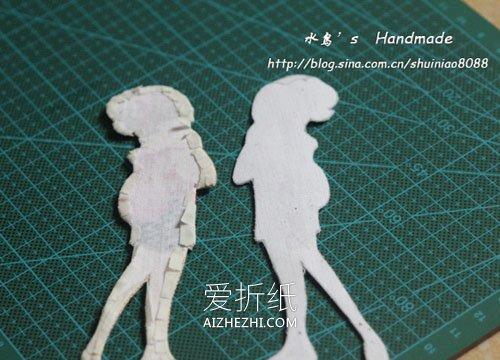 怎么刺绣人物书签制作教程- www.aizhezhi.com