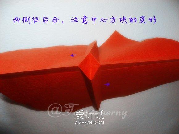 怎么折叠无格PT玫瑰折法- www.aizhezhi.com