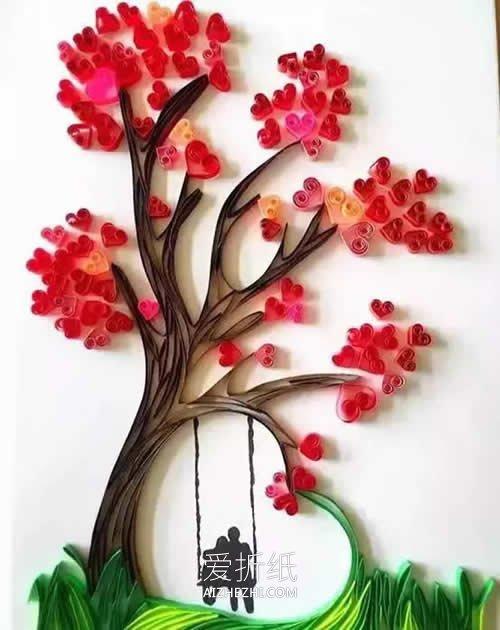 好看的衍纸作品欣赏- www.aizhezhi.com