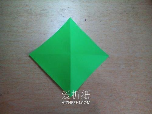 怎么折格纹爱心- www.aizhezhi.com