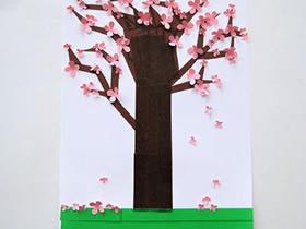 樱花贴画怎么做