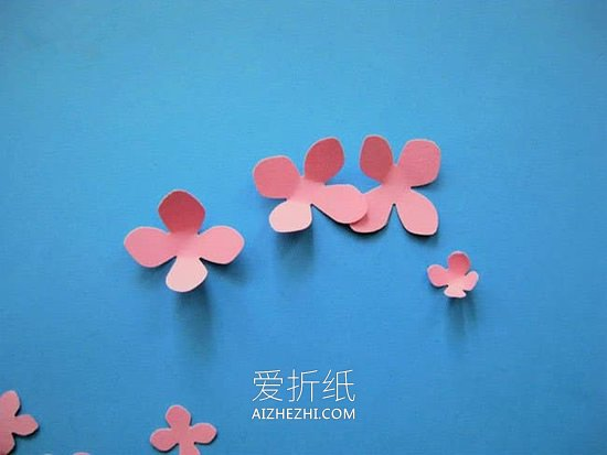 樱花贴画怎么做- www.aizhezhi.com