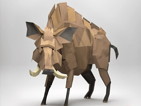殿堂级折纸立体艺术品图片欣赏