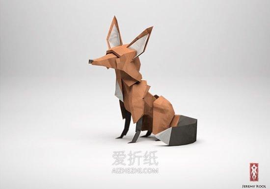 殿堂级折纸立体艺术品图片欣赏- www.aizhezhi.com