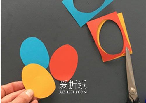 动物纸贴画怎么做简单又可爱- www.aizhezhi.com