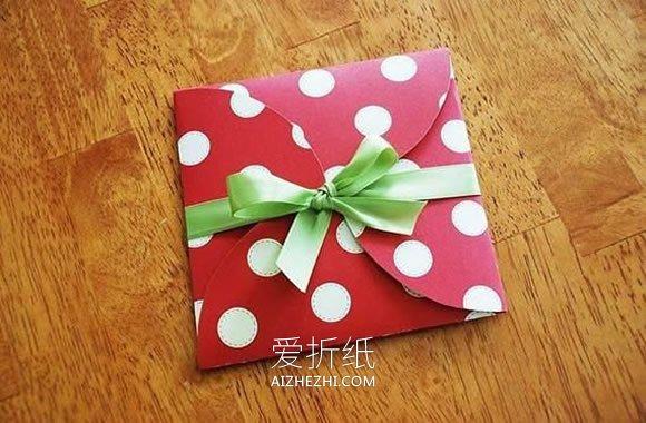 卡纸礼品盒怎么做最简单- www.aizhezhi.com