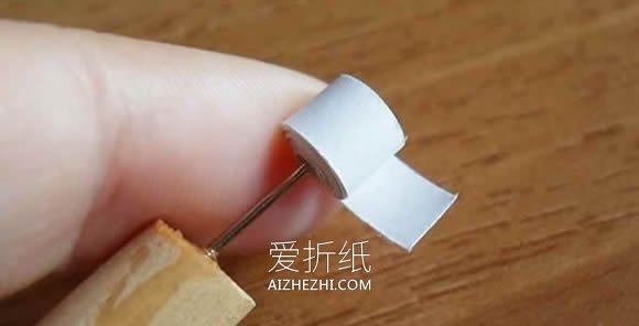 衍纸雪花挂饰怎么做- www.aizhezhi.com