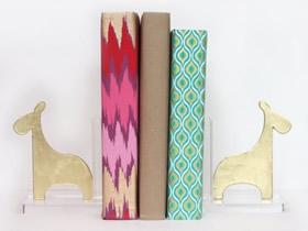 长颈鹿书挡怎么做