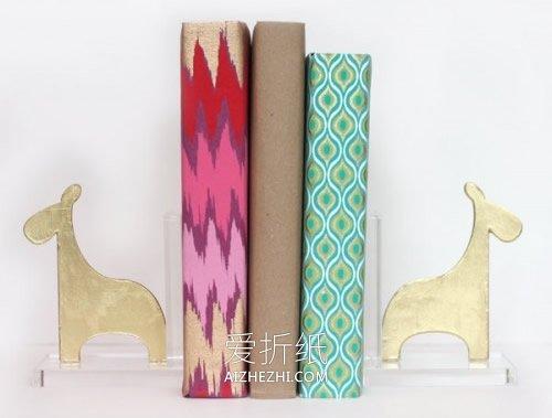 长颈鹿书挡怎么做- www.aizhezhi.com