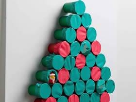 纸杯圣诞树手工制作方法