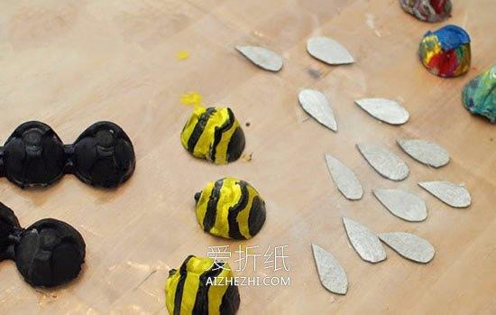 鸡蛋盒蜜蜂怎么做- www.aizhezhi.com