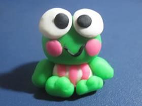 超轻粘土青蛙怎么做