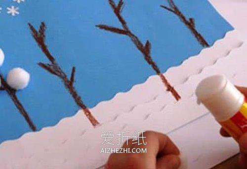 冬天卡片怎么做- www.aizhezhi.com