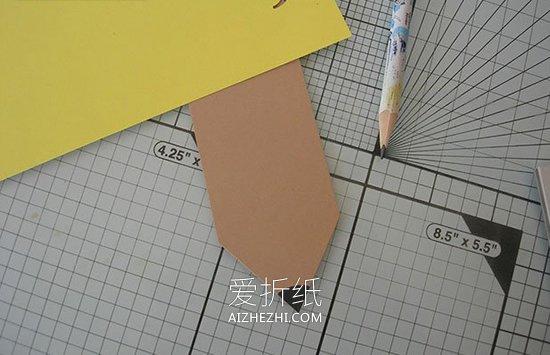 教师节铅笔书签怎么做- www.aizhezhi.com